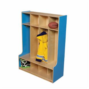 Wood Designs 4 Section Seat Locker