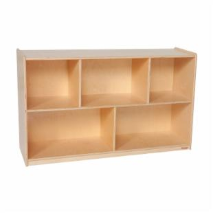 Wood Designs 30H in. Single Storage - Natural