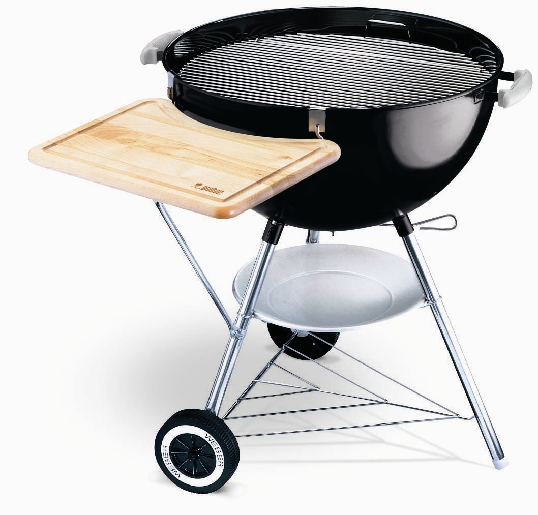 inch weber one touch gold charcoal grill with work. Black Bedroom Furniture Sets. Home Design Ideas