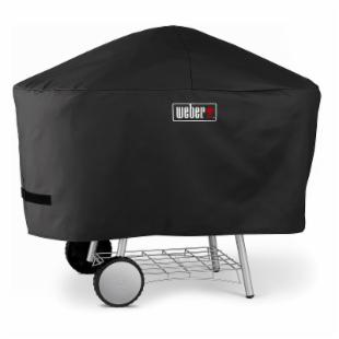 Weber-Stephen Products Red Performer Grill 1424001 Charcoal Grill