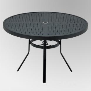 Winston Stamped Aluminum Outdoor Dining Table