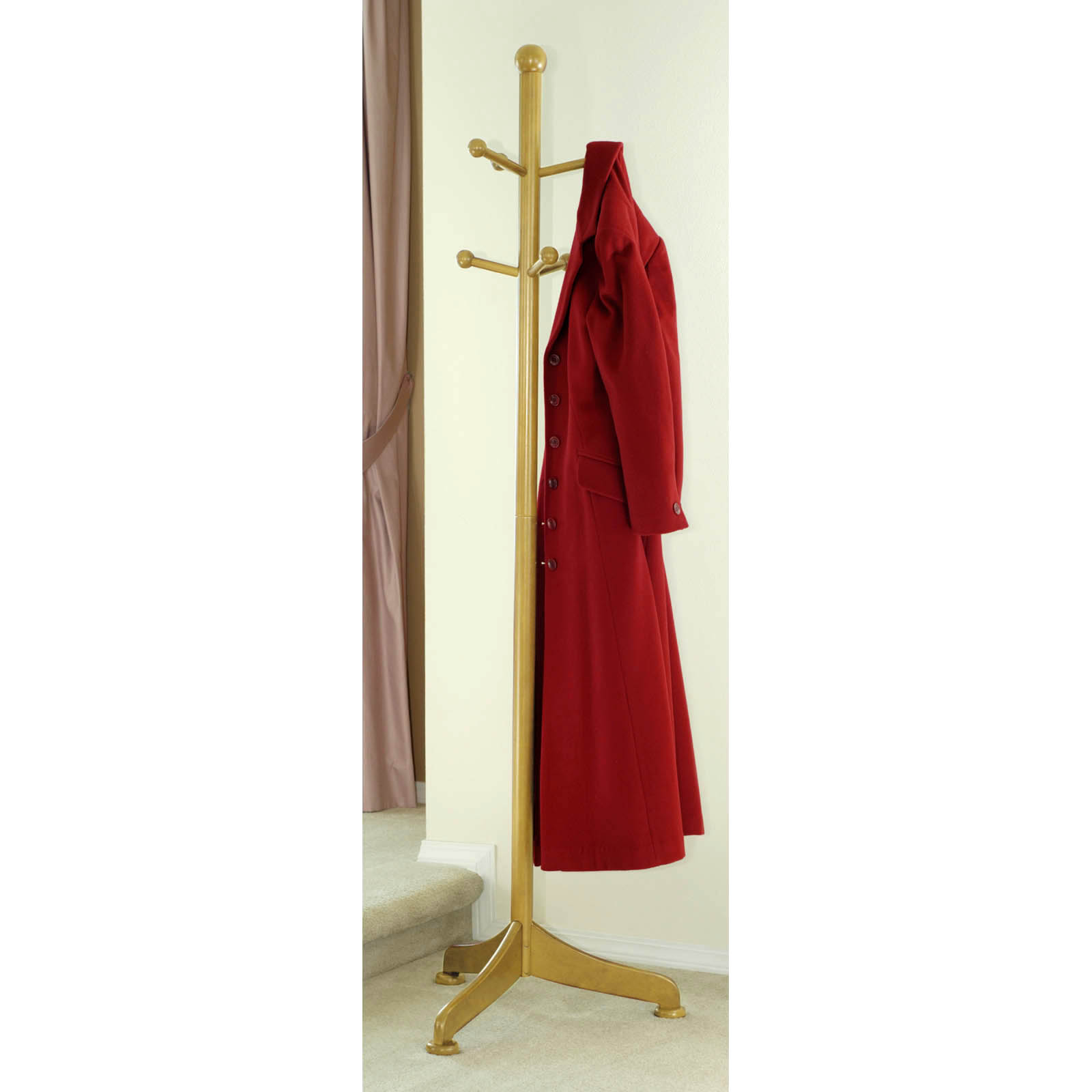 Wooden Coat Stand ~ Wooden coat rack wall mounted woodproject