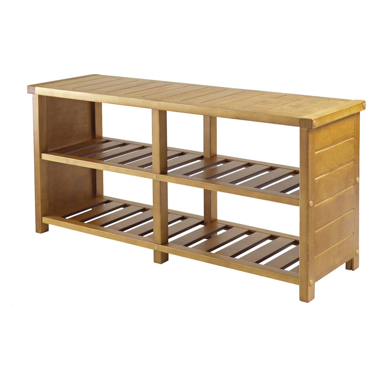 Winsome Keystone Shoe Storage Bench Indoor Benches At Hayneedle