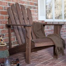  Coral Coast Adirondack Chair - Dark Brown