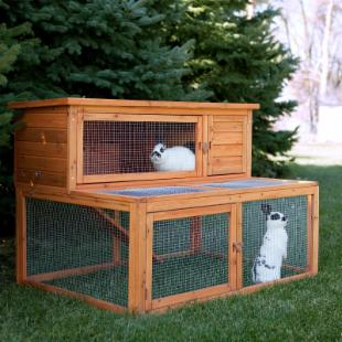 Boomer &amp; George Deluxe Rabbit House