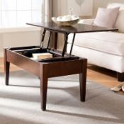  Turner Lift Top Coffee Table - Espresso