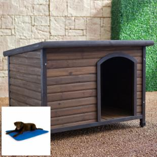 Boomer &amp; George Cabin Dog House with Cooling Bed