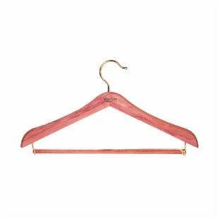 Woodlore Standard Hanger with Locking Pant Bar - Set of 4