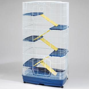 Clean Living Ferret Cage - Large 6 Level