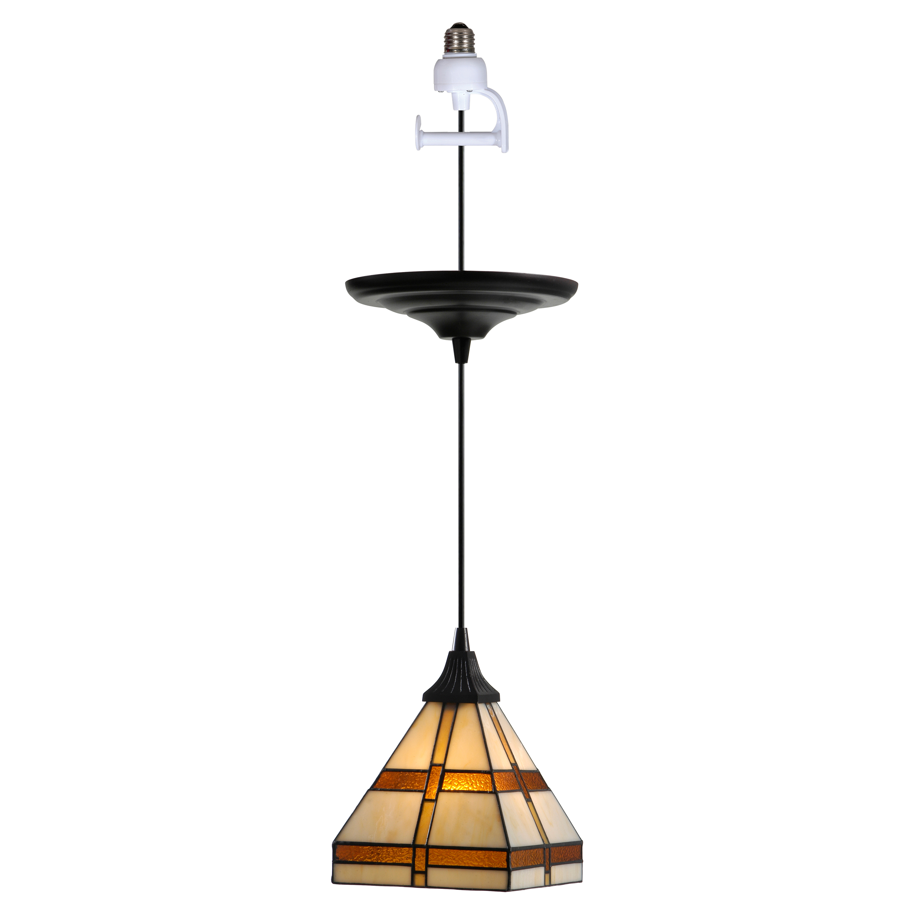 Worth Home Products Instant Screw In Pendant Light With