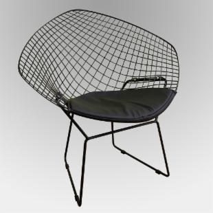 Bertoia Wire Lounge Accent Chair