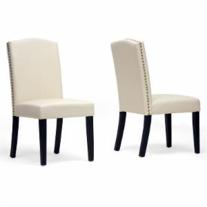 Baxton Studio Trullinger Dining Chair - Set of 2