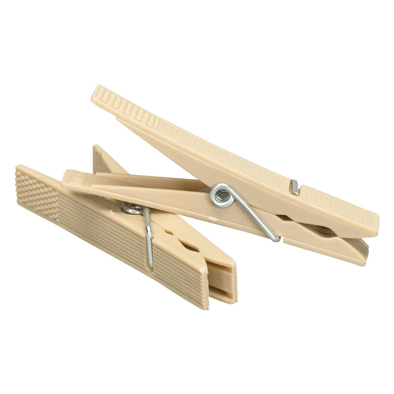 Household essentials tan plastic clothespins clothesline for Household essentials whitney design