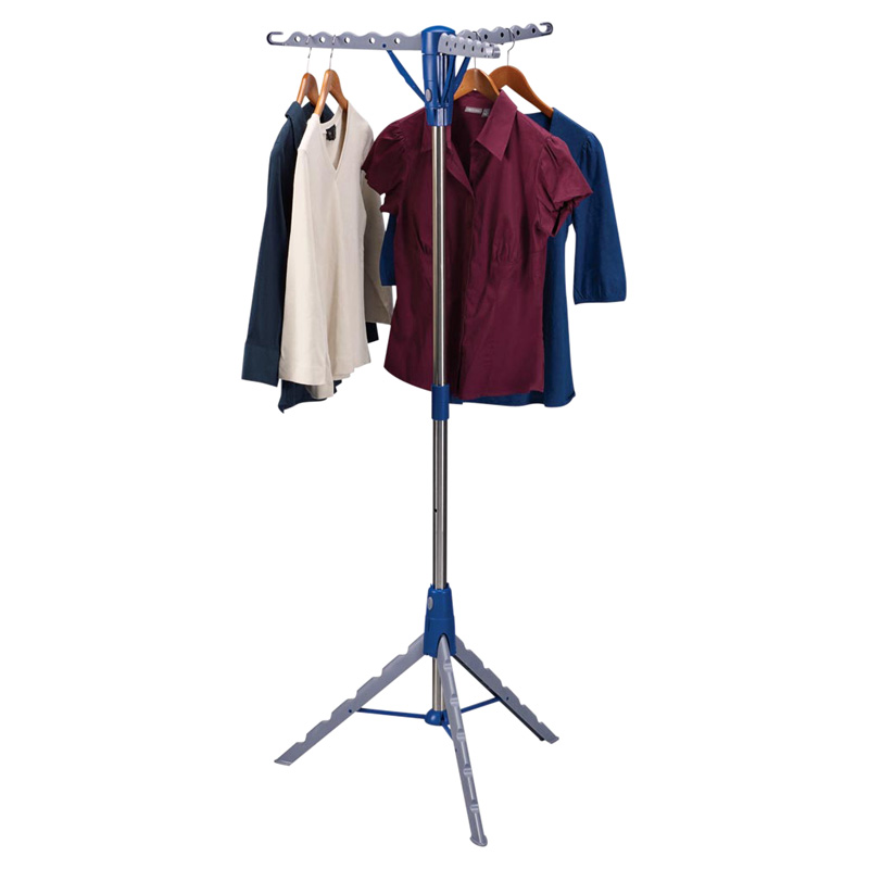 Household essentials 5009 tripod drying rack clothes for Household essentials whitney design