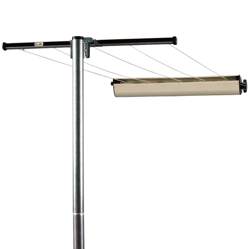 Household essentials 3 piece pole with retractable for Household essentials whitney design