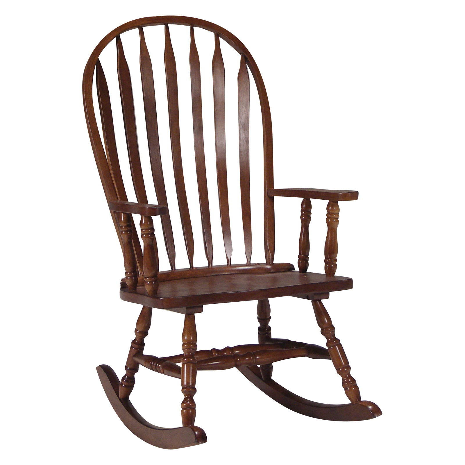 International Concepts Windsor Steambent Rocking Chair Cherry At Hayneedle