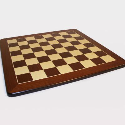  Framed Rosewood and Maple Chess Board