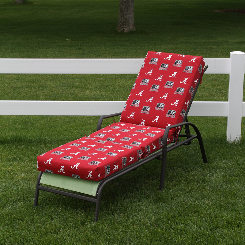 College covers 72 x 20 in chaise lounge cushion outdoor for Chaise lounge cushion covers outdoor