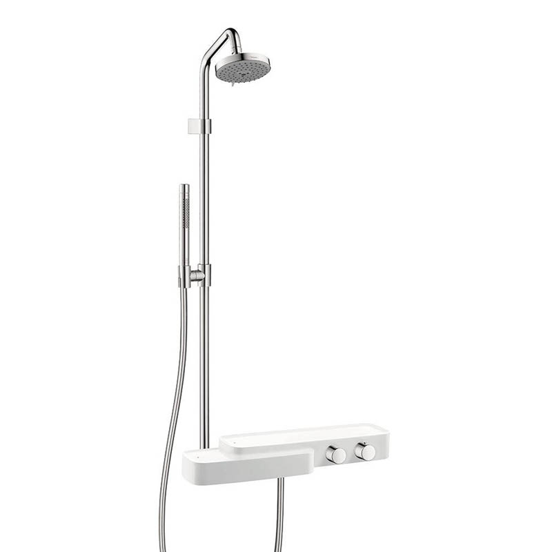 Axor Bouroullec 19670401 Hand Shower And Shower Head Combo Kit Shower Fauce