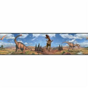Dinosaurs Peel & Stick Border