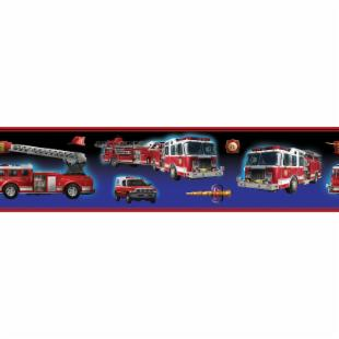 Fire Brigade Peel &amp; Stick Border
