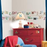 Alphabet Peel and Stick Wall Decals