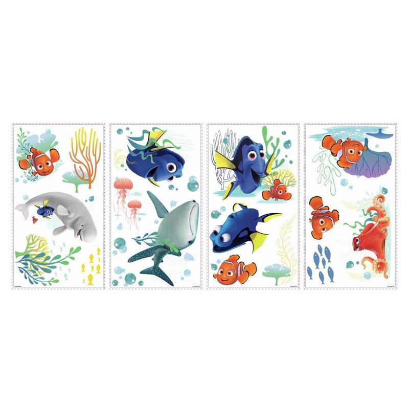 RoomMates Finding Dory Peel and Stick Wall Decals YWI1323-1