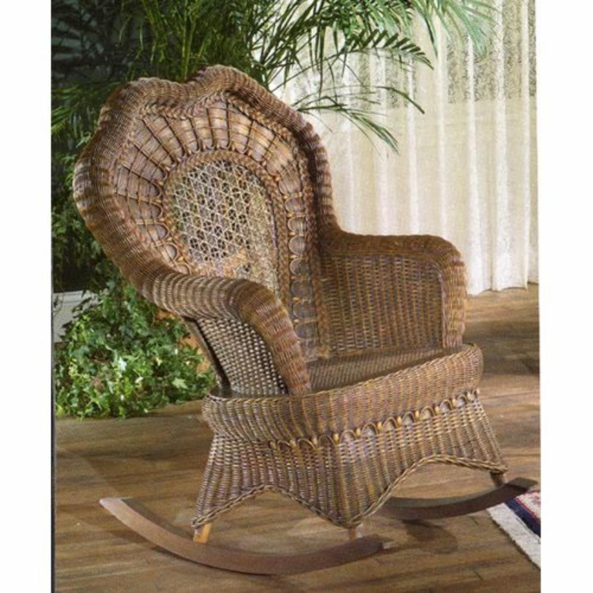 Great Serpentine Rocking Chair   Indoor/Covered Porch Part 12