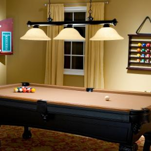 Jarvis Pool Table/Island Light - Bronze
