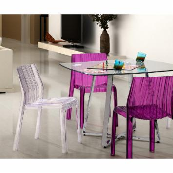  Zuo Modern Ruffle Dining Chair - Set of 4