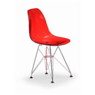 Zuo Modern Kids Baby Spire Chair - Transparent Red