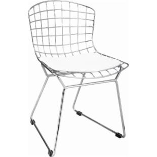 Zuo Modern Kids Baby Wire Chair - Chrome - Set of 2