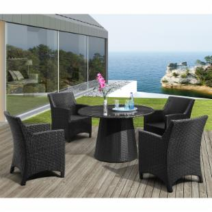 Zuo Modern Adrien Dining Table Set - Seats 4