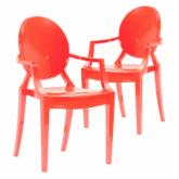  Beatty Acrylic Dining Chair - Set of 2