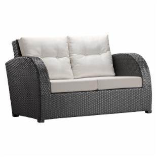 Zuo Modern Cumberland Outdoor Loveseat