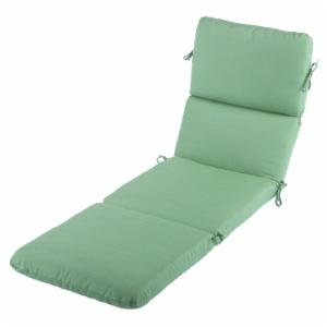 Green chaise lounge cushions outdoor cushions on for Chaise cushions on sale