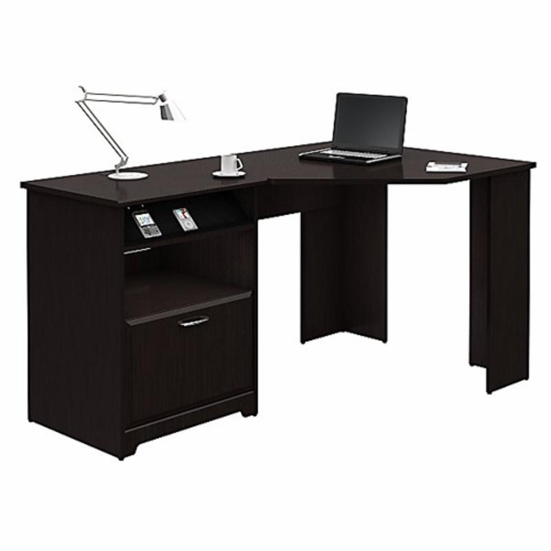 Bush Cabot Corner Computer Desk With Optional Hutch