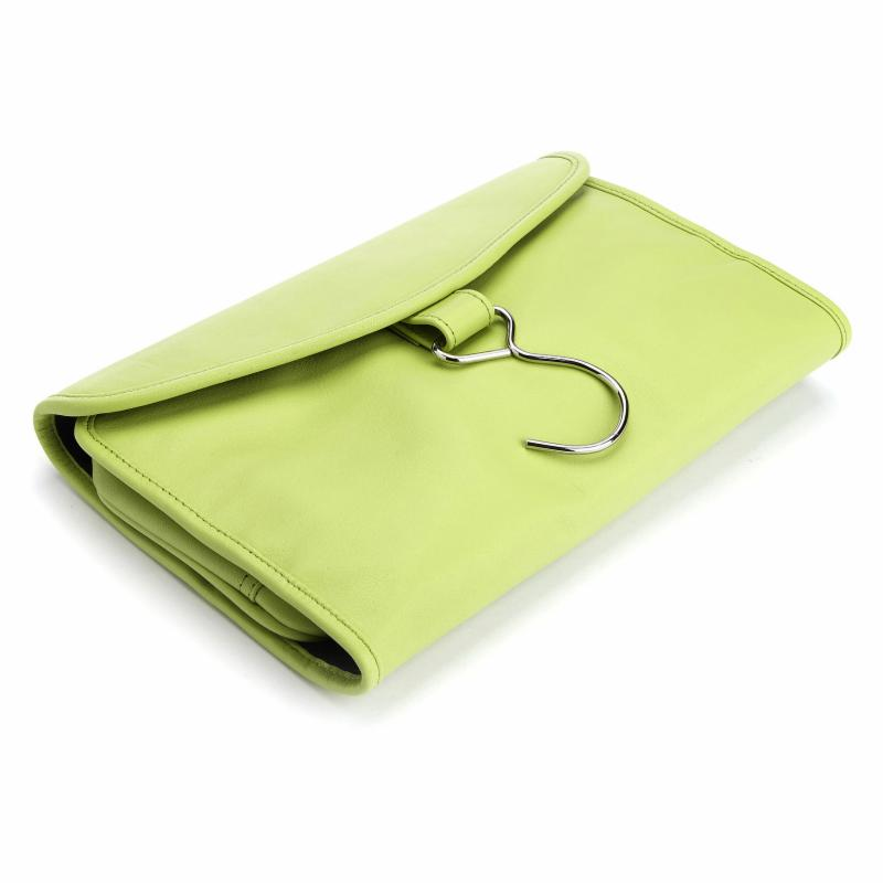 Royce Hanging Toiletry Bag Key Lime Green