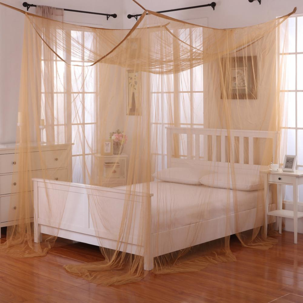 details about palace four poster bed canopy