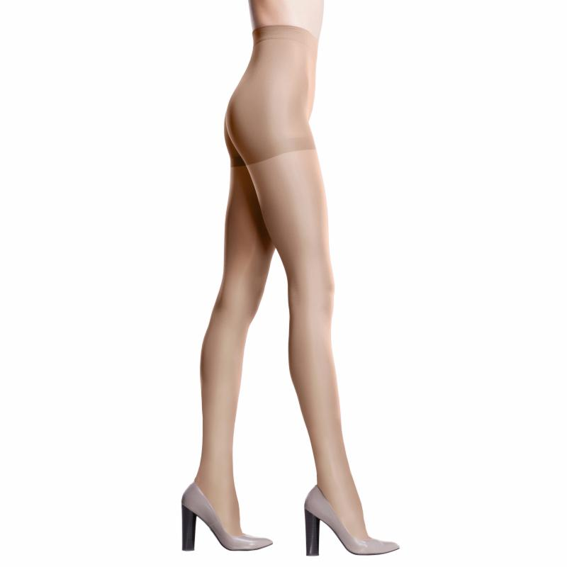 Petite ITA-MED Sheer 20-22 mmHg Compression Pantyhose Nude, Women's ITAM165-7