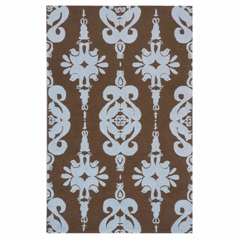 Lil' Momeni Classic Collection Area Rug Baby Blue MOM759-3