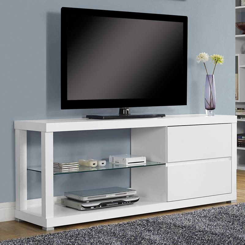 Monarch 60 in. TV Console with 2 Drawers MON895-1