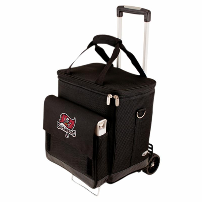 Picnic Time NFL Cellar Wine Tote with Trolley