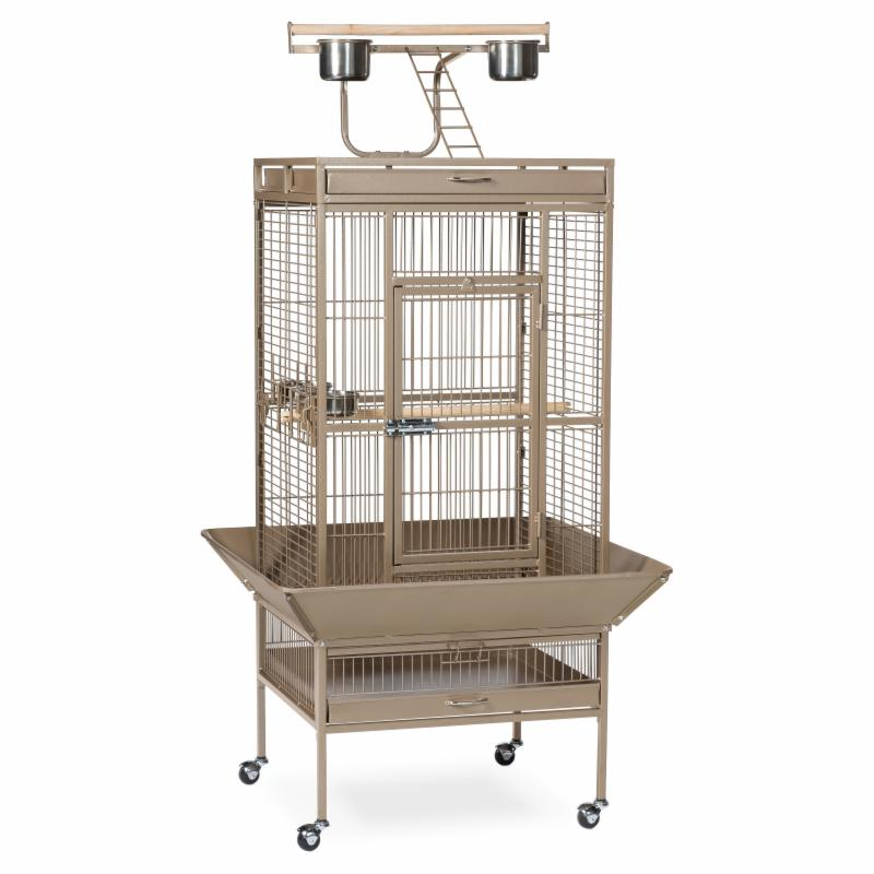 Prevue Pet Products Select Wrought Iron Parrot Cage 3152 Cocoa PRP093-5