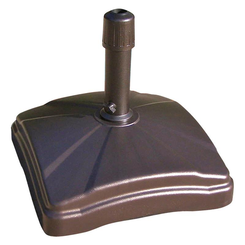 Shademobile 90-125 lb. Rolling Patio Umbrella Base with Locking Wheels Bronze