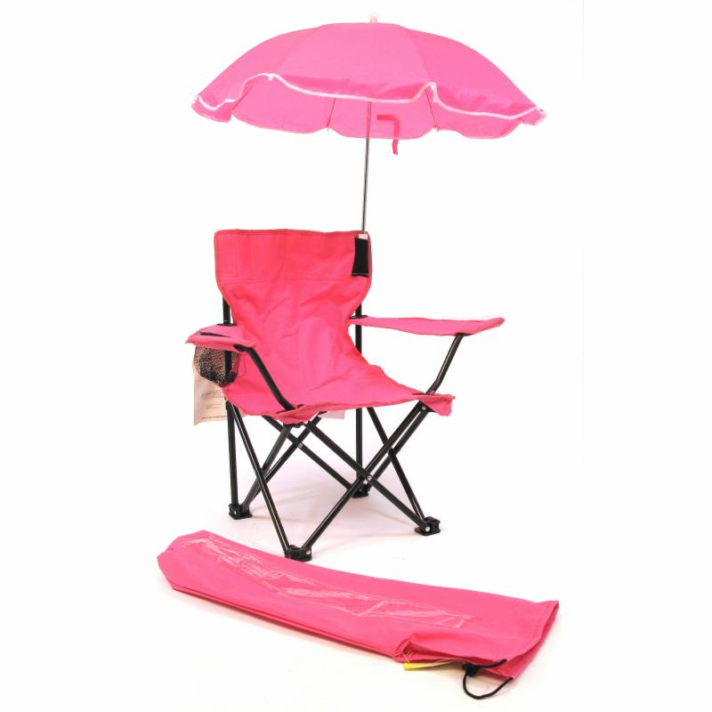 Outdoor Beach Baby Kids Camp Chair with Umbrella