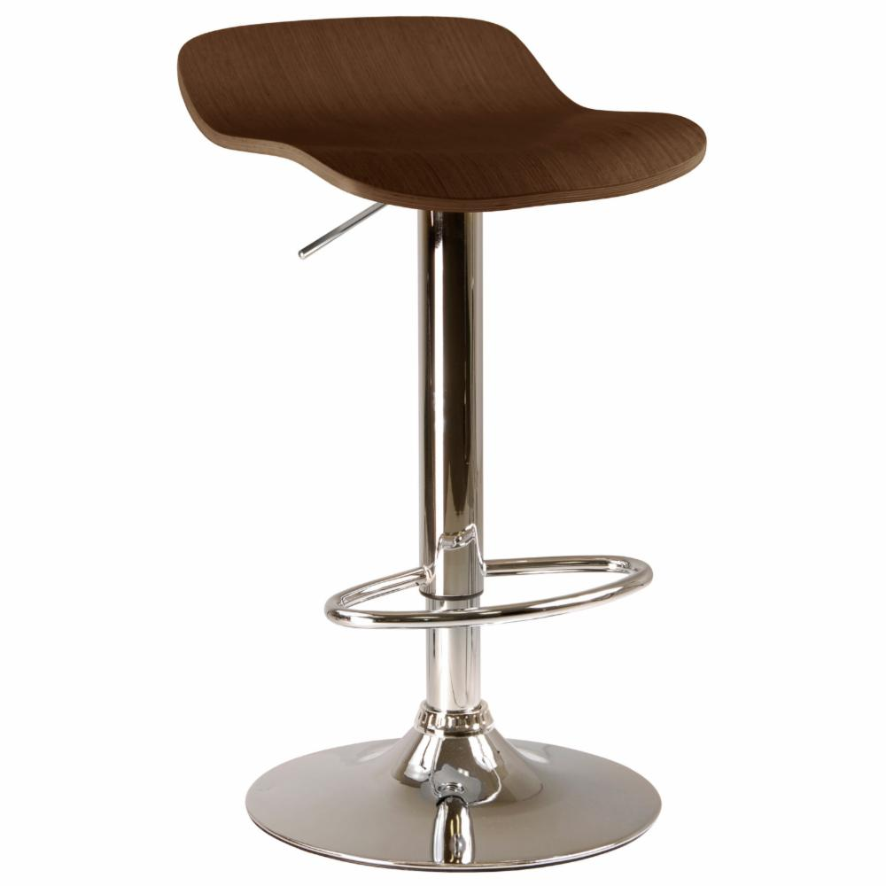 Winsome Adjustable Kallie Air Lift Swivel Counter Stool