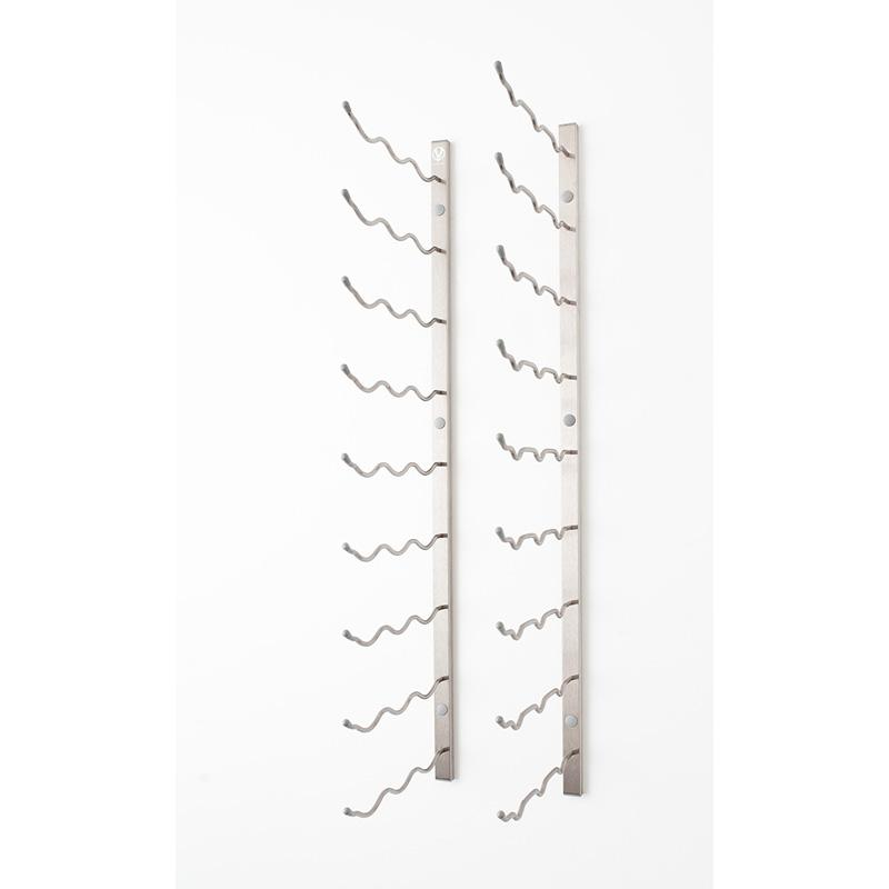 VintageView 27-Bottle Wall Mounted Wine Storage Rack