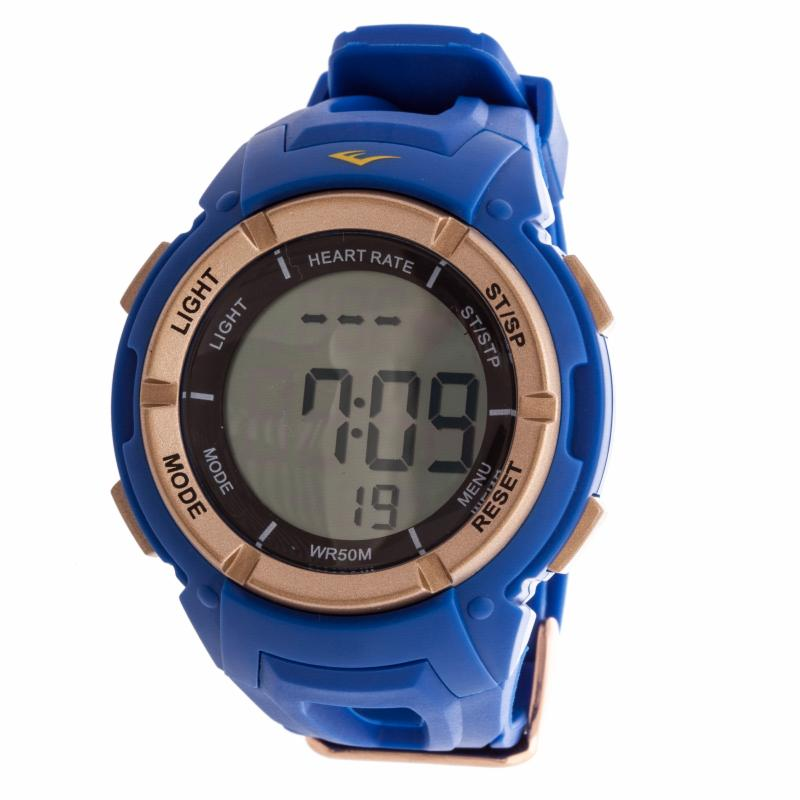 Everlast HR3 Heart Rate Monitor Watch with Chest Strap Transmitter Blue XTRE006-5