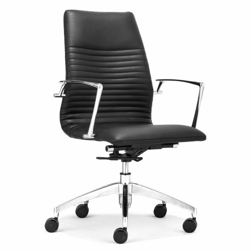 Lion Low Back Office Chair Black ZMC1836-1